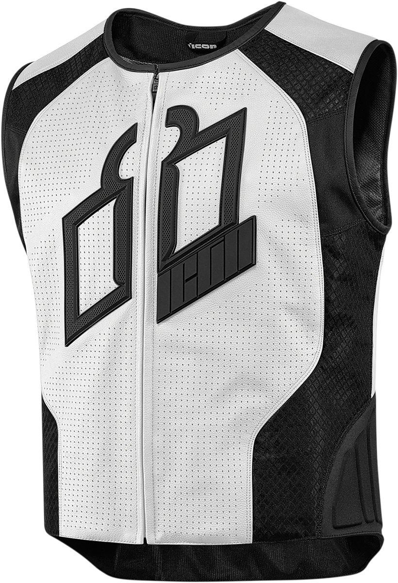 ICON Hypersport Prime Vest White Riding vest