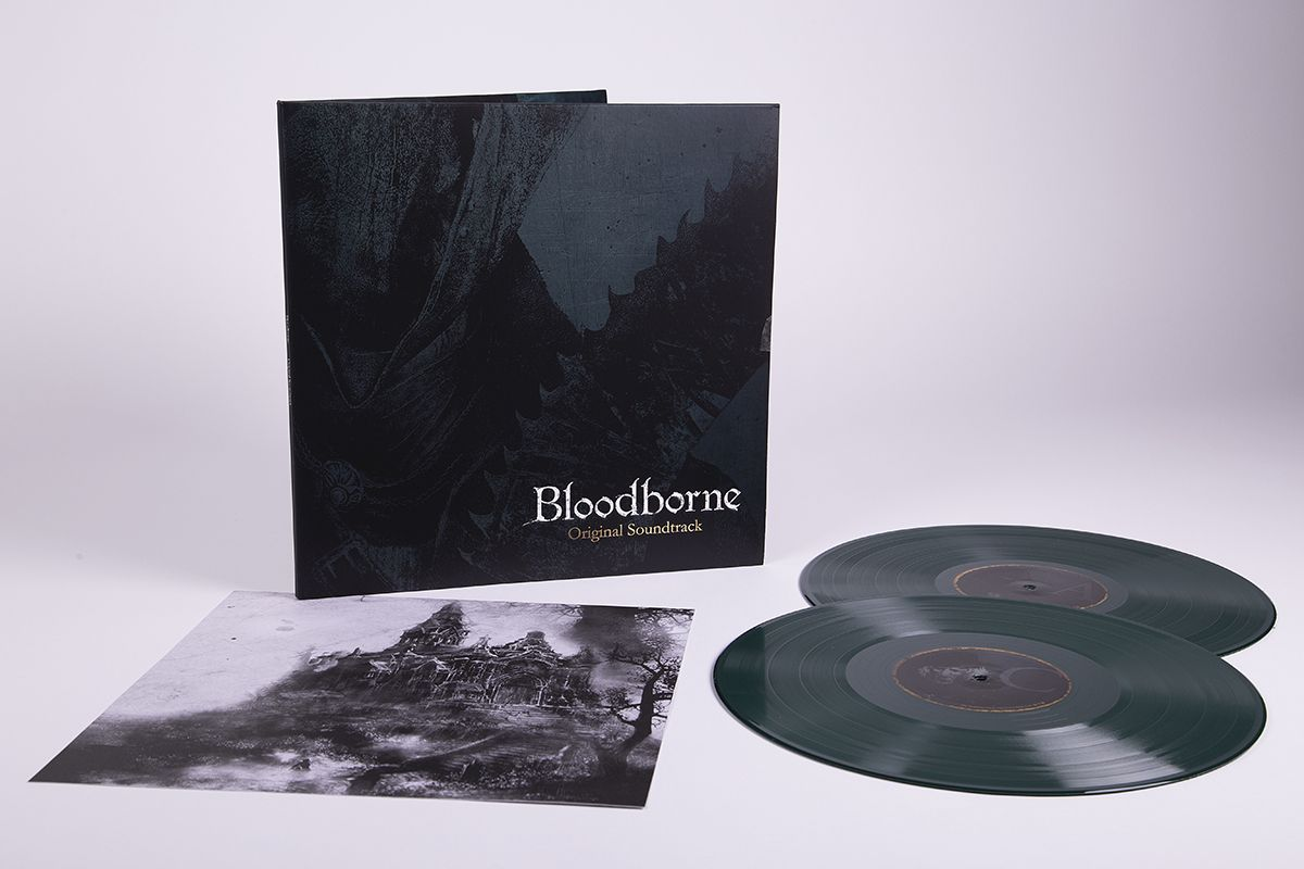 Various Bloodborne Ost 12 2x Lp Black Vinyl Housed In Gatefold Sleeve Laced Records Vinyl House Vinyl Black Vinyl