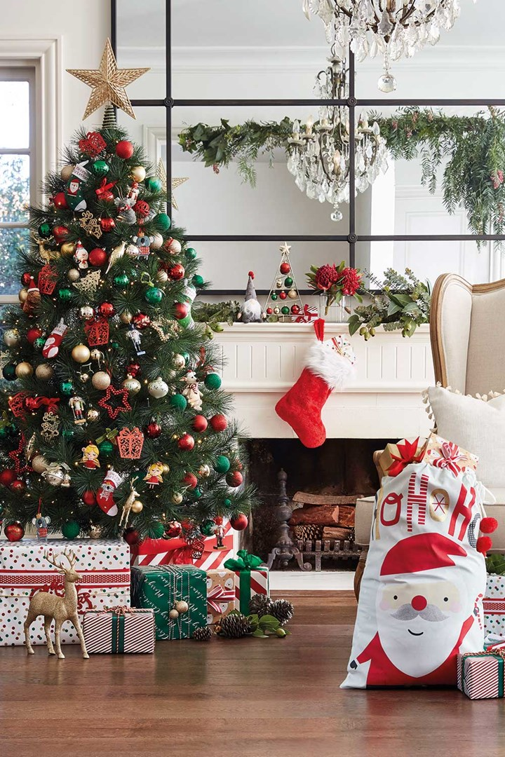 Target Christmas Decorations 2018 Have Landed In Store Home Beautiful Magazine A Christmas Tree Decorations Target Christmas Christmas Decorations Australian