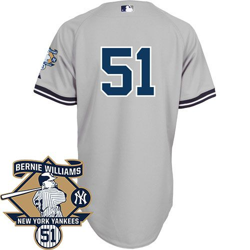 finest selection e5992 e84fb New York Yankees Authentic Bernie Williams Road Jersey ...