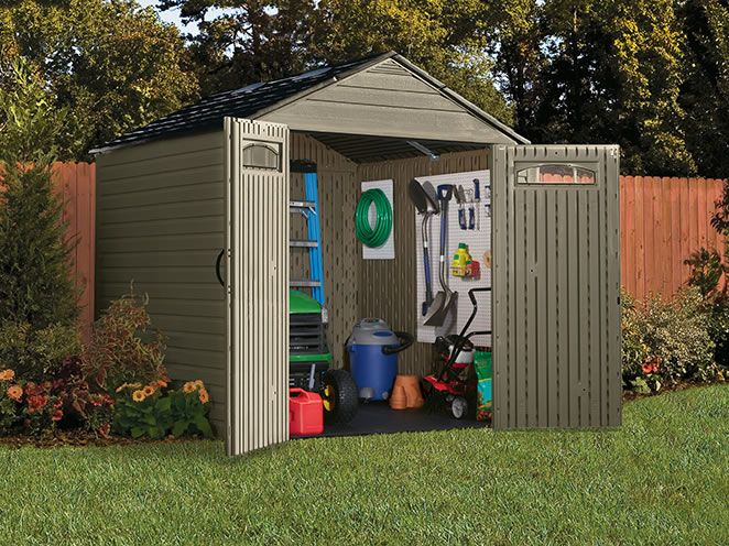 I am imagining all the items I could store in this shed! The