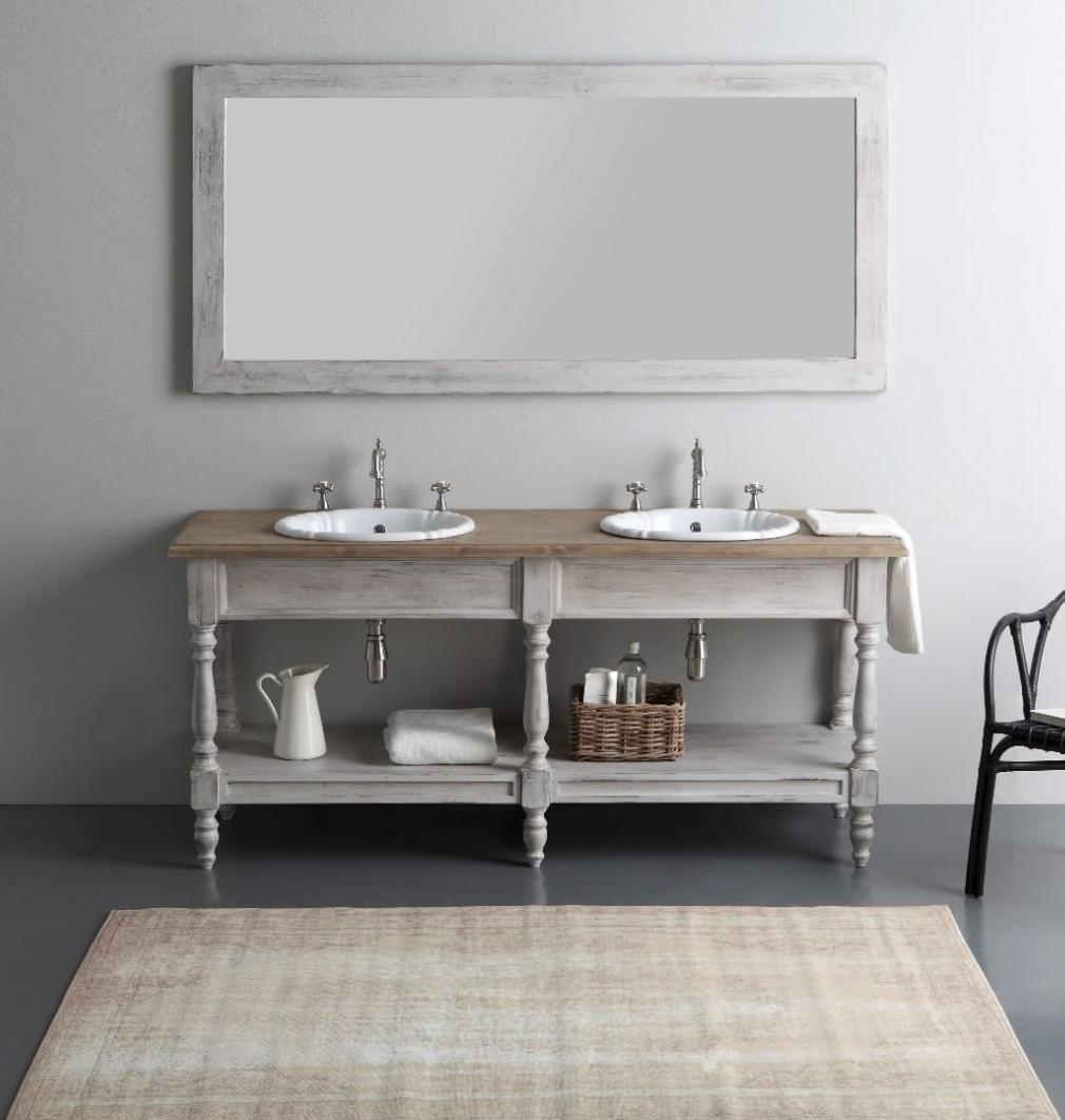 mobilier de salle de bain designed by Bleu Provence meuble ...