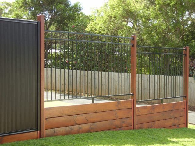 Feature Fencing Aluminum Fence Fence Design Building A Fence