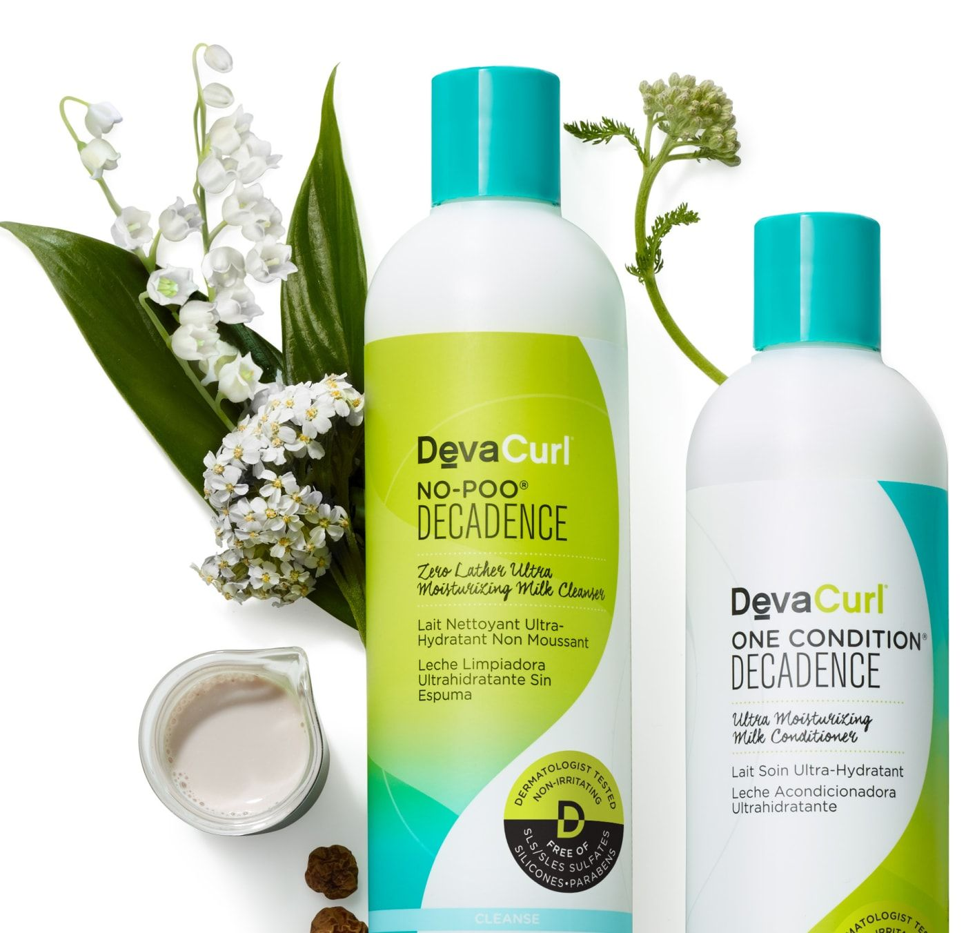 No-Poo Shampoo Decadence Zero Lather Moisturizing Cleanser | DevaCurl