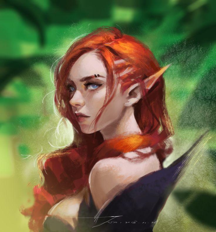 Innocent cute redhead elf photos 811
