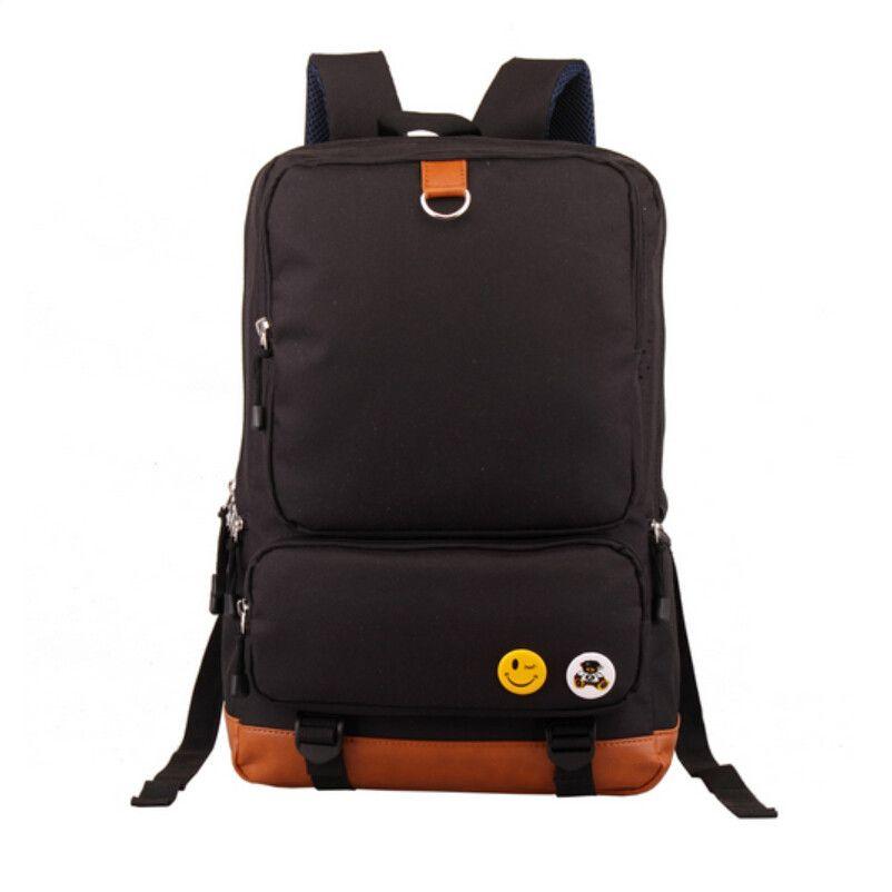 b124cf90d322 School Backpacks for boys school bags girl schoolbag children backpacks  Blue bookbag men travel bags male
