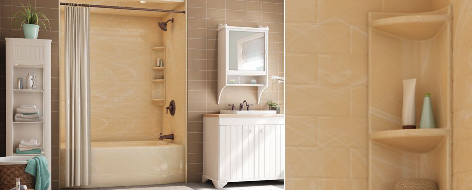 Cool Average Price Of Replacing A Bathroom Big Average Cost Of Bath Fitters Clean Bathroom Tempered Glass Vessel Sink Vanity Faucet Bathroom Water Closet Design Young Install A Bath Spout FreshSmall Bathroom Designs Shower Stall This Splendid Ivory Marble Bath Fitter Unit Was Done With The ..