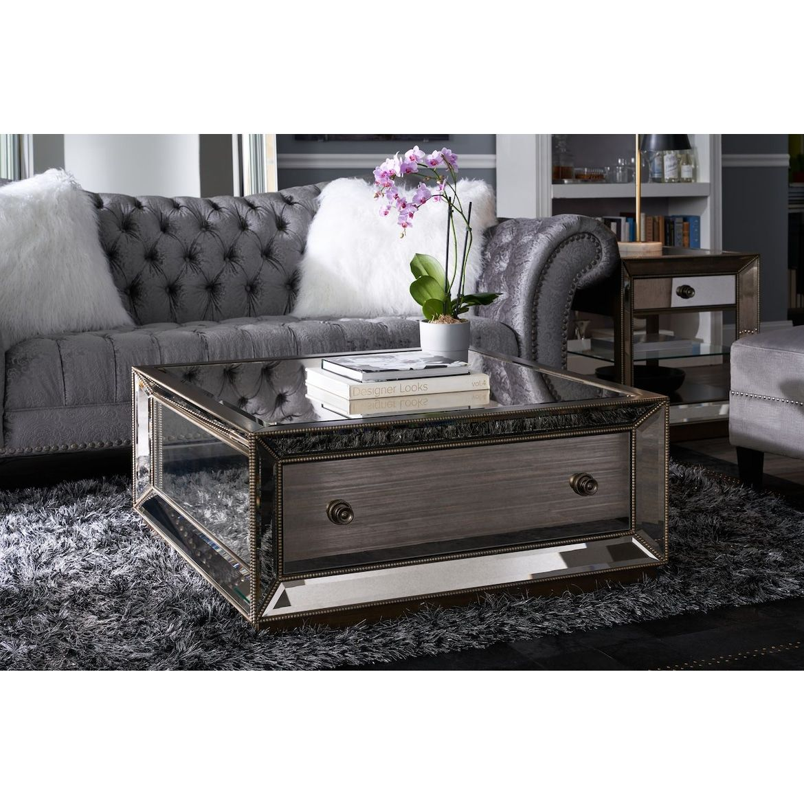 Reflection Coffee Table Value City Furniture And Mattresses Coffee Table Table Decor Living Room Value City Furniture [ 1170 x 1170 Pixel ]