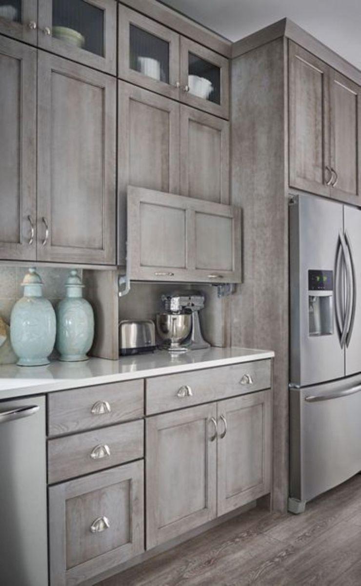 Küchenschränke in der garage  rustic farmhouse kitchen cabinets ideas