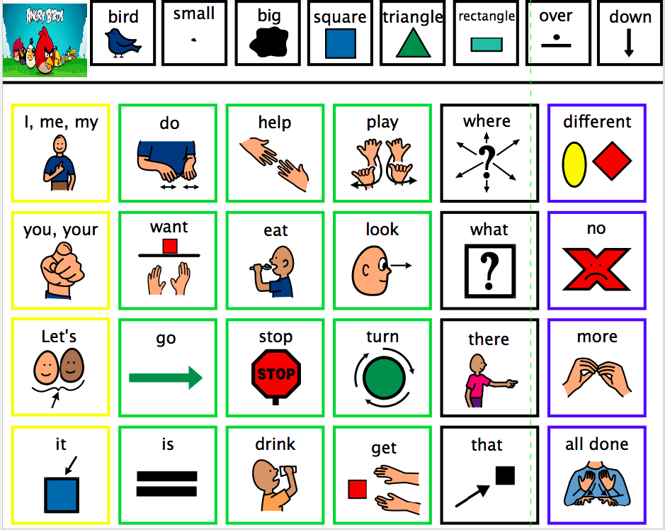 This is a picture of Impeccable Printable Communication Board for Adults