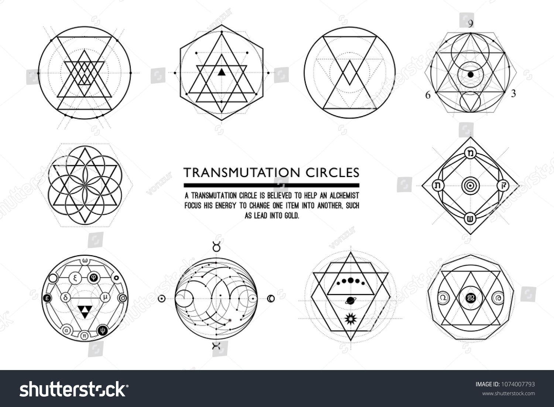 18++ Alchemy circles information