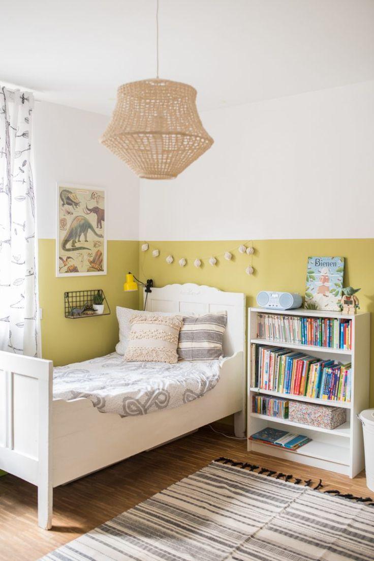 Kinderzimmer wandfarbe neue wandfarbe im jungszimmer  kids rooms  pinterest  room kids