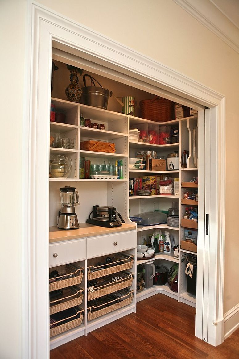 25 Cool Pantry Door Ideas That Go Beyond The Mundane With Images Kitchen Pantry Design Pantry Design Custom Pantry