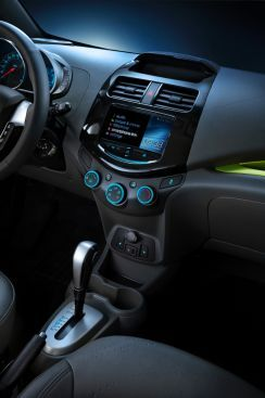 2013 Chevrolet Spark Interior Featuring Optional 7 Color Touch