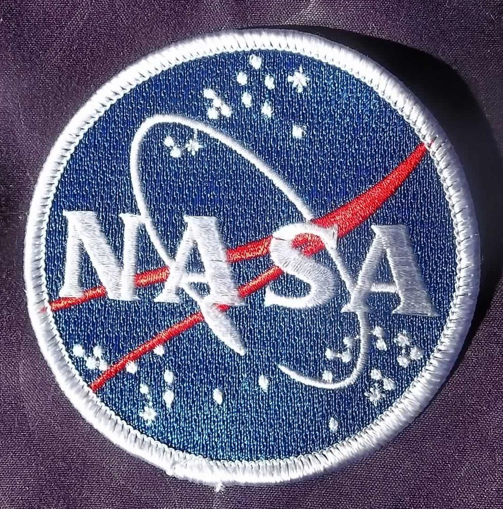 NASA PATCH COSTUME ROUND SOLAR SYSTEM SPACE PROGRAM ASTRONAUT EMBROIDERED