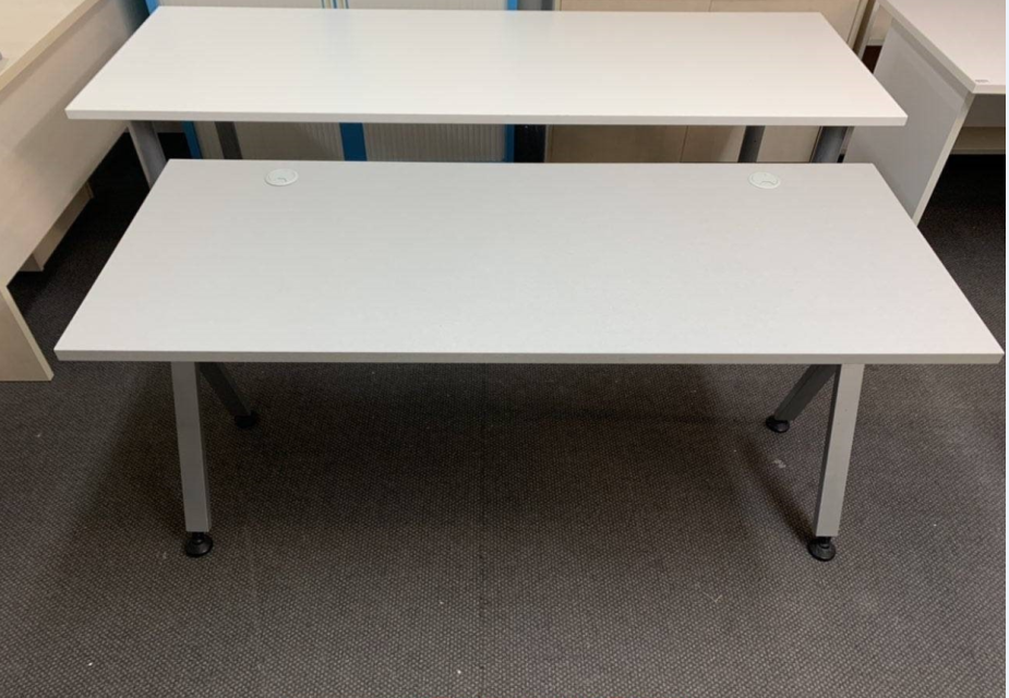 Straight Office Desk N Z Made Used Office Furniture Office Desk Second Hand Furniture
