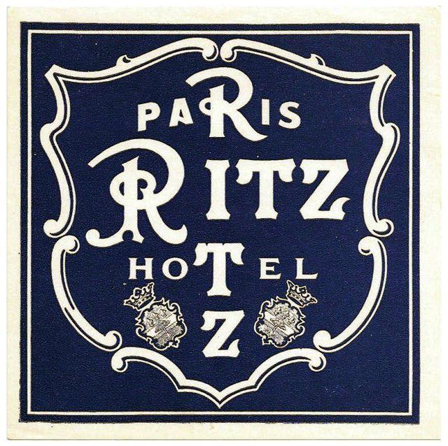 Francia Parigi Hotel Ritz 1920 Paris Mon Amour Pinterest