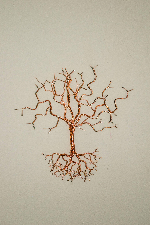 Tree Wall Art, Tree of Life, Family Tree Art, Wire Tree Art, Wire ...