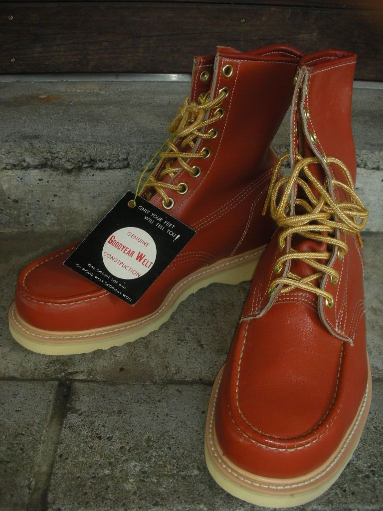 b37be1eb9fd 1970's deadstock w/box big mac work boots sz/9ee   Boots and some ...