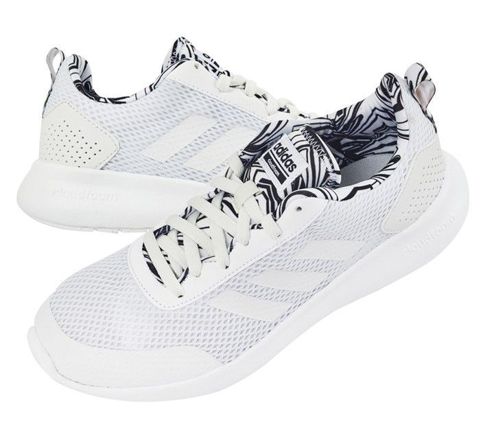 adidas Running Race Shoes CF Element Gym Women's Fitness White B6BxTHq