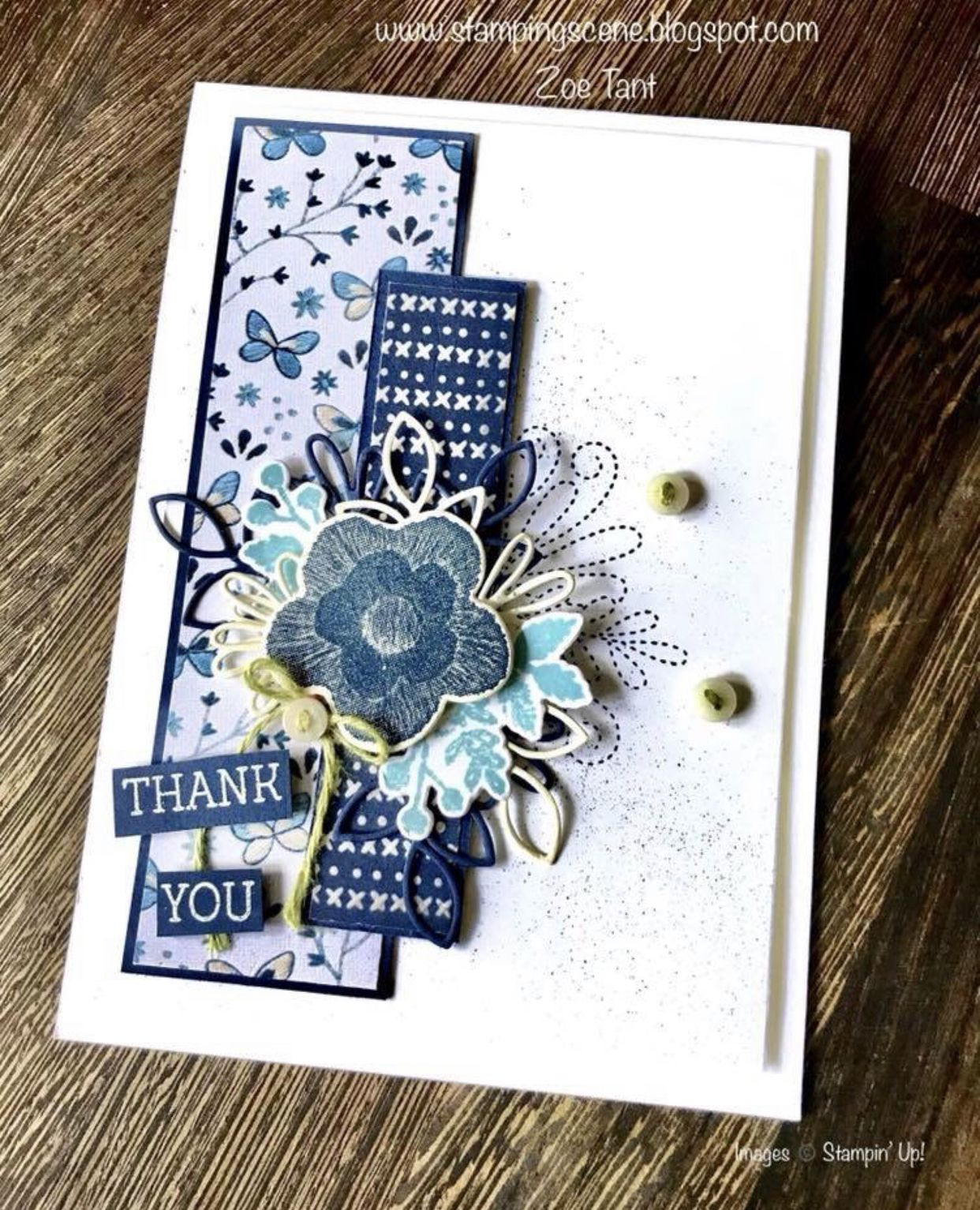 Needle & Thread Stampin' up 2019 occasions catalog