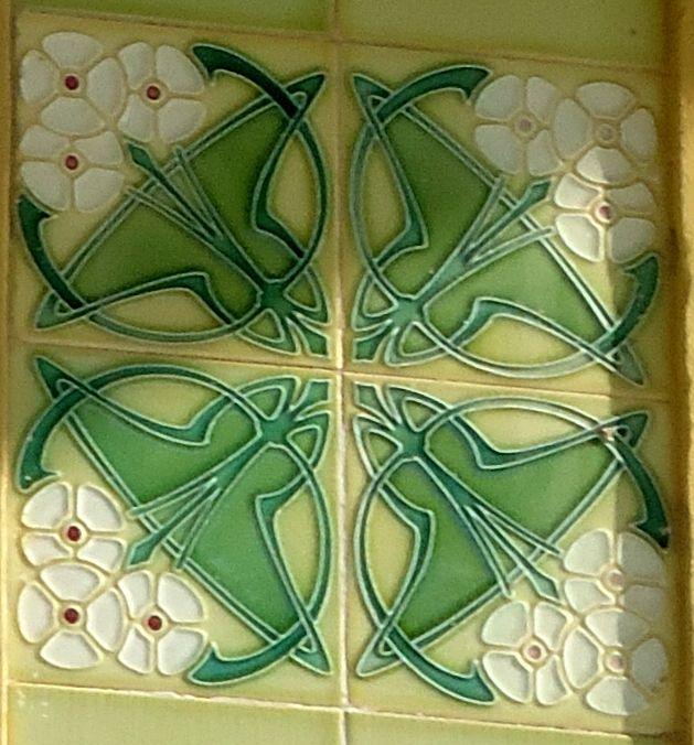 Art Nouveau tiles in Mosqueiro Island- North of Brazil | Art Nouveau ...