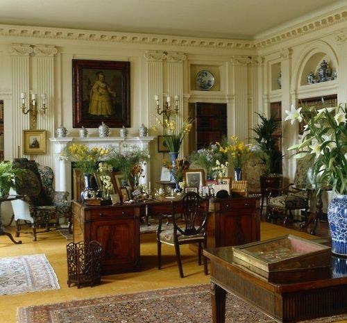 The Sixth Duke Scullyandscully Traditional English English Interior Design Georgian Interiors English Decor