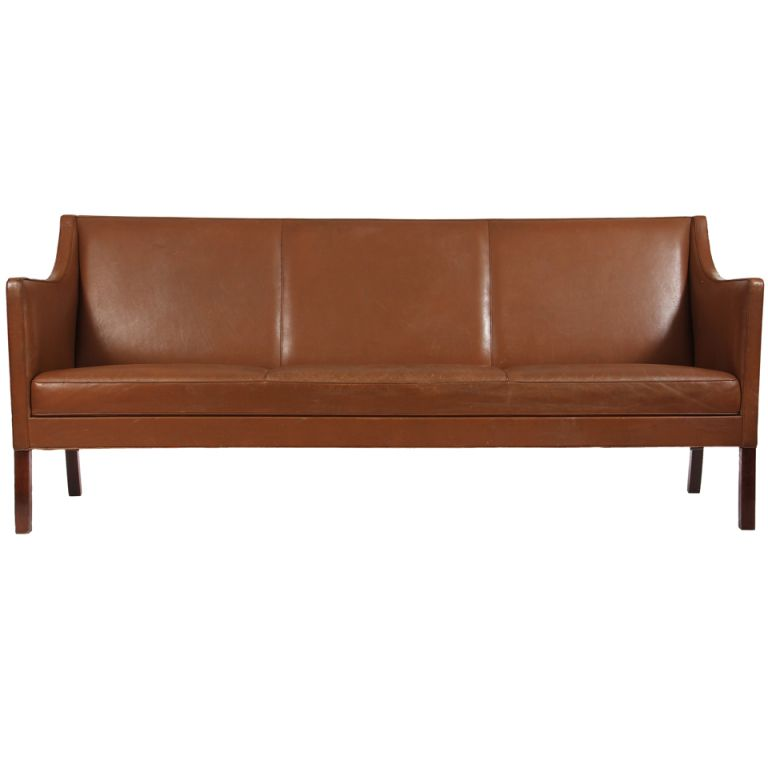 1stdibs - Leather sofa by Ole Wanscher explore items from ...