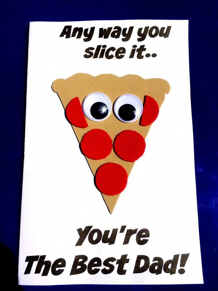 Sea of Knowledge's Free Father's Day Pizza Craft | * Kids <3