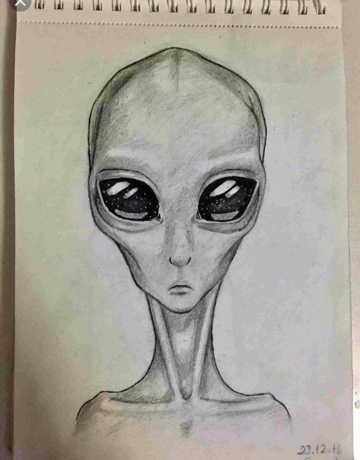 картинки инопланетян в карандашей отыскать