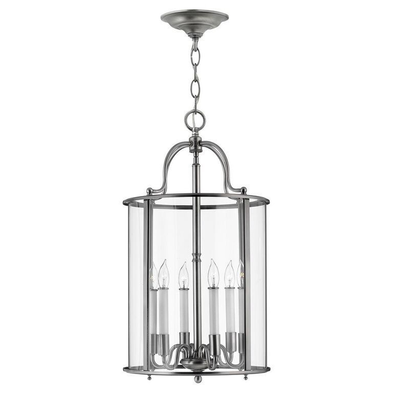 The Elstead Lighting Gentry Large Interior Ceiling Lantern is in a