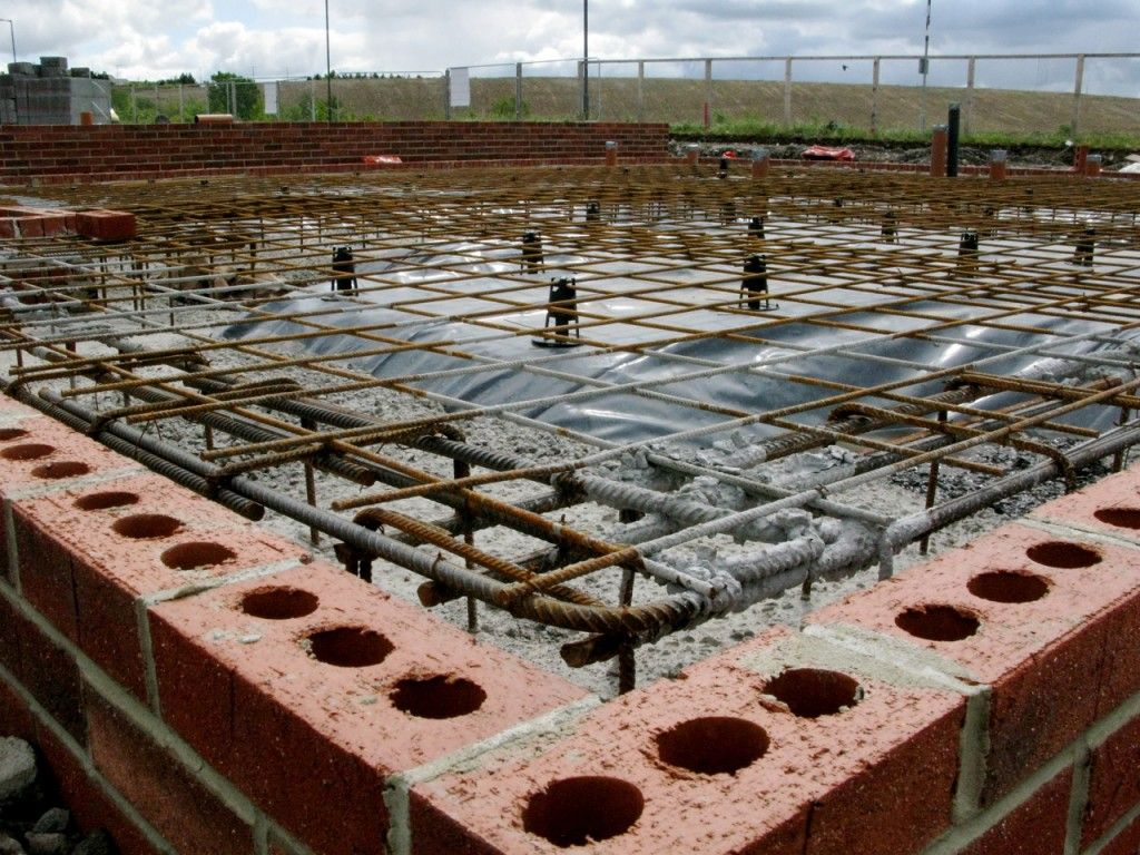 Raft foundation foundations pinterest house for Building home foundation