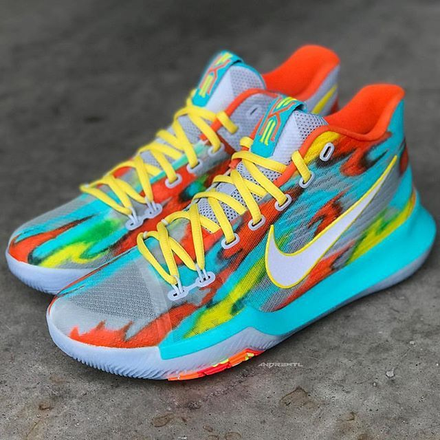 "the latest 60582 2a17b Rate 1-10 👟 Nike Kyrie 3 ""Venice Beach"" Custom 🎨  andr3wtl"