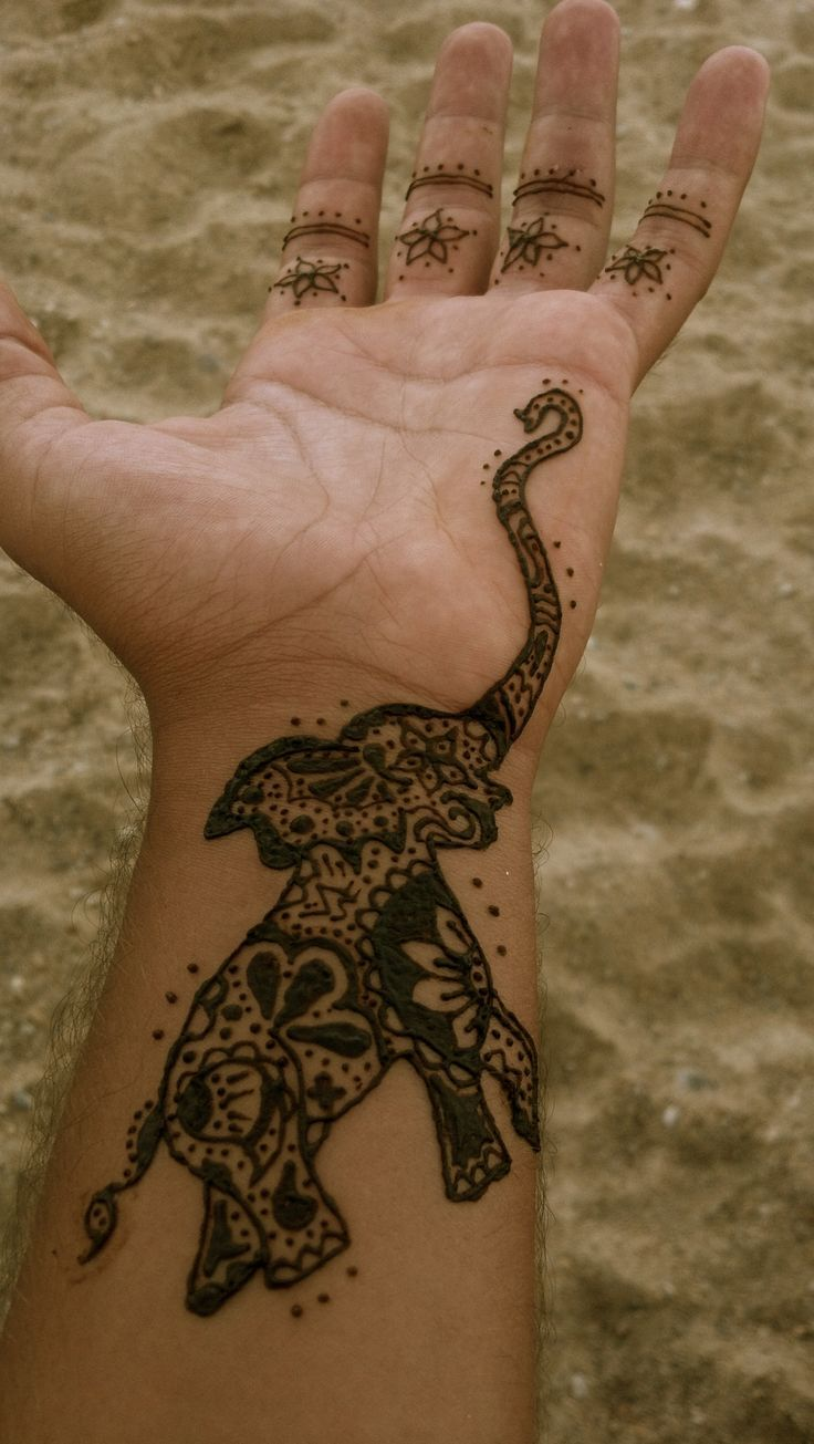 1000 ideas about traditional henna designs on pinterest traditional - 51 Cute And Impressive Elephant Henna Tattoo Ideas