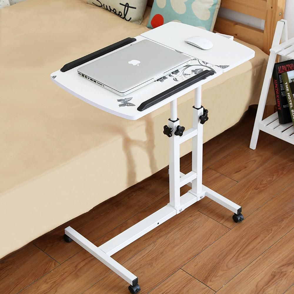 Laptop Desks 2018 Foldable Computer Table 64*40cm Adjustable Portable Laptop Desk Rotate Laptop Bed Table Can Be Lifted Standing Desk Furniture