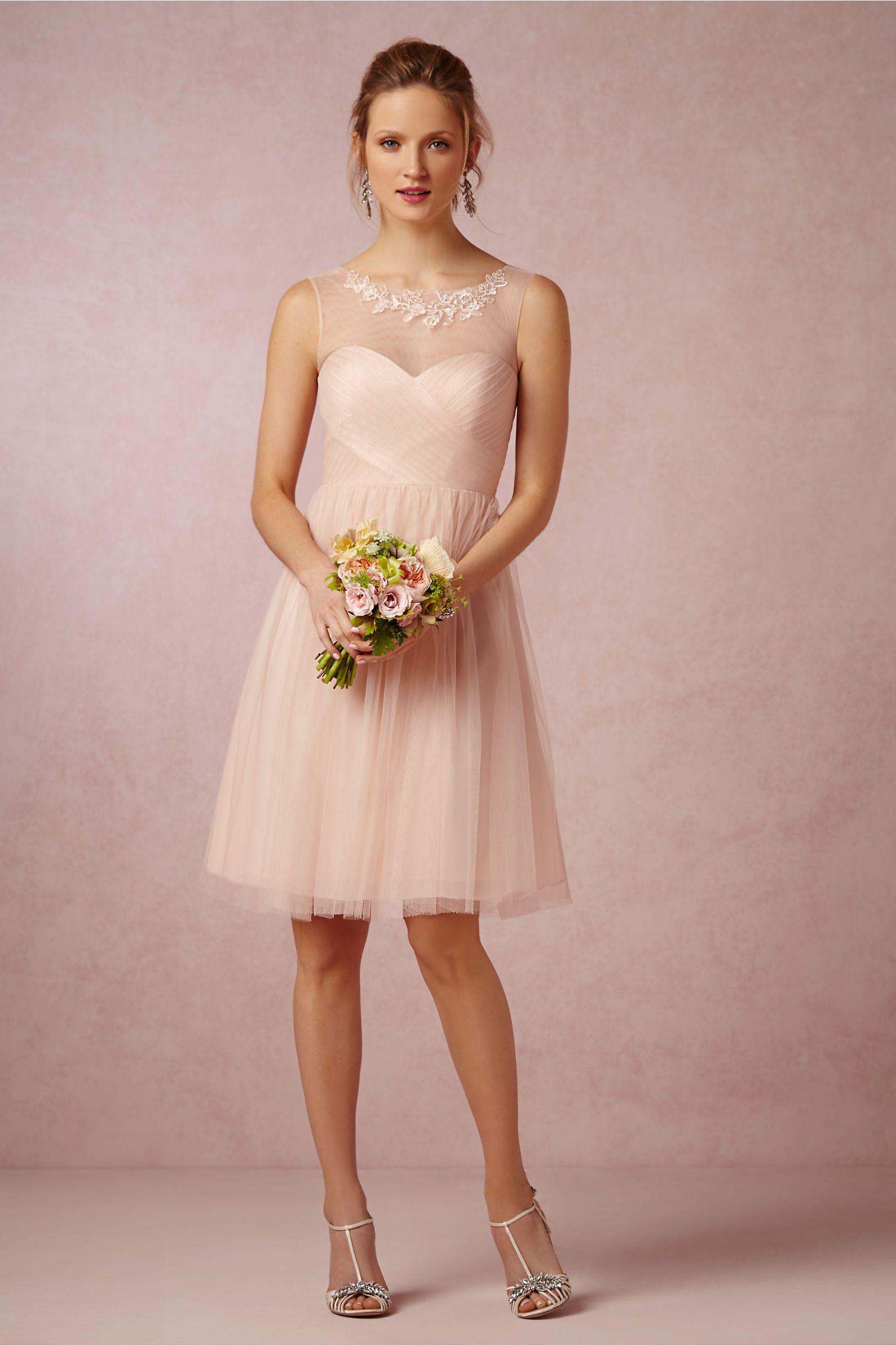 Wedding Trend: Blush Bridesmaid Dresses | Pinterest | Vestidos damas ...