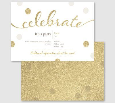 Adult Birthday Invitations Announcements Templates Designs