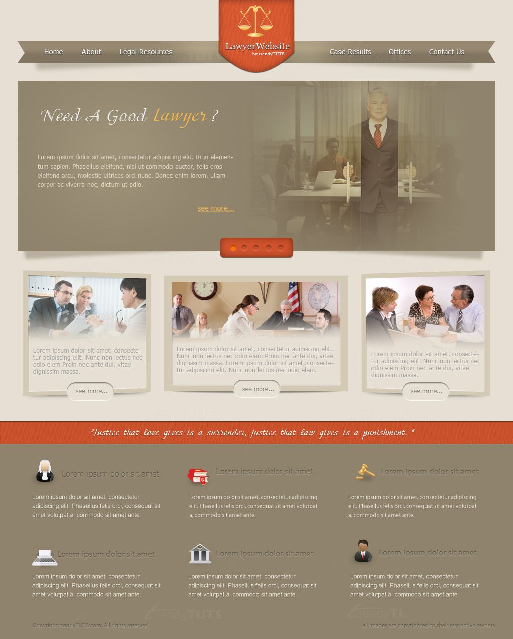 How to design a lawjustice website in photoshop photography design web layout in photoshop 25 fresh tutorials whether you kick off a web design layout by sketching on papers or blank photoshop canvas baditri Choice Image