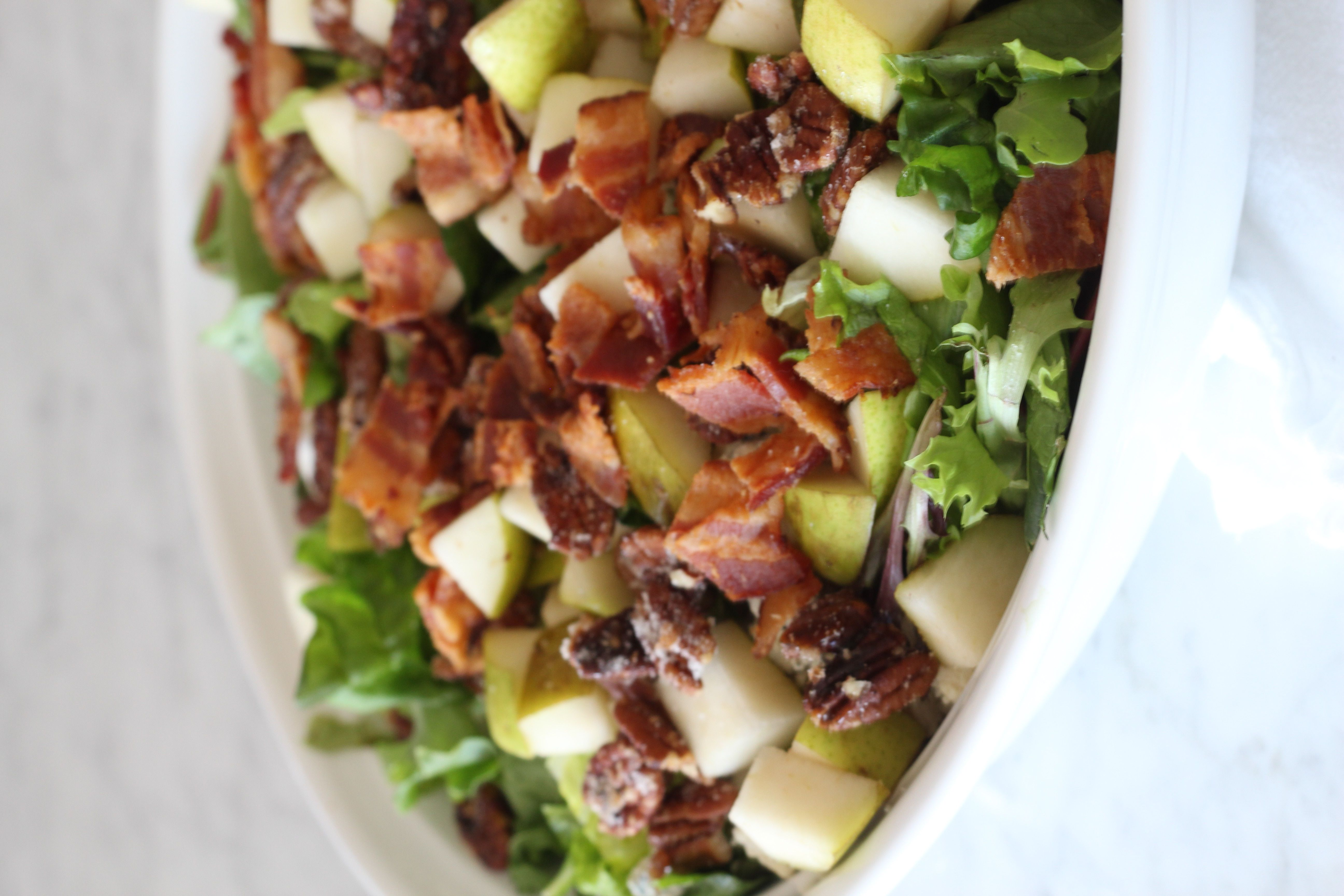 Pear And Pecan Salad With Sweet Red Wine Vinaigrette A Bountiful Kitchen Recipe Pecan Salad Red Wine Vinaigrette Sweet Red Wines [ 3456 x 5184 Pixel ]