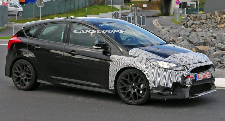 Ford S Mustang Turbo Powered 2016 Focus Rs Spied Ford Mustang
