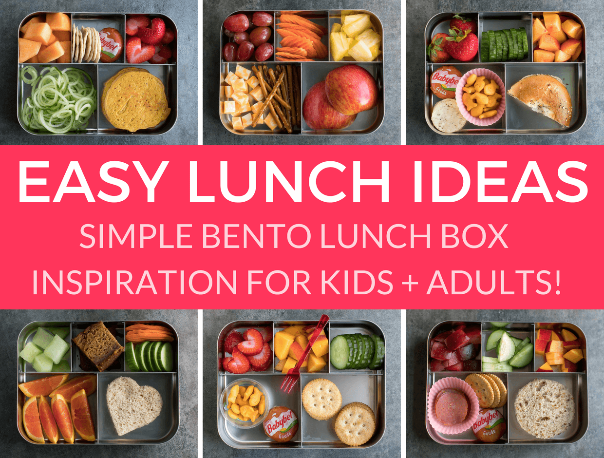 Easy Lunch Ideas for Kindergarten images