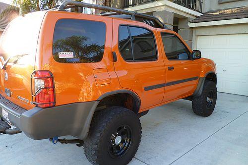 2003 Atomic Orange Nissan Xterra SE Supercharged FOR SALE $11k