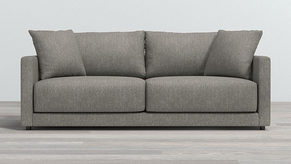 Gather Deep Seated Sofa Reviews Crate And Barrel In 2020