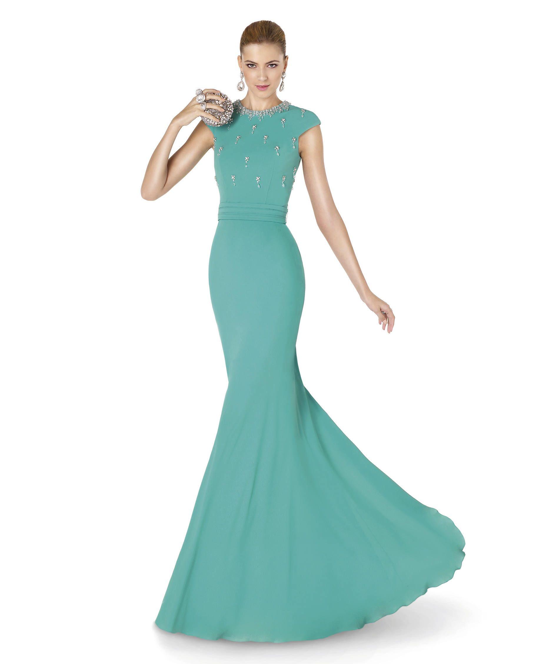 Pronovias te presenta su vestido de fiesta ALGERIA de la colección ...