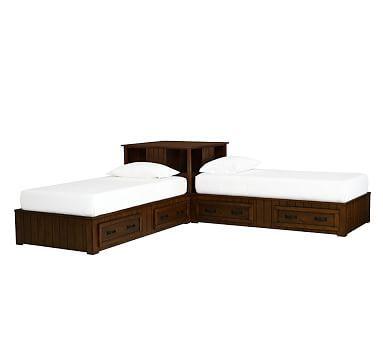 Belden Twin Beds And Corner Unit Set