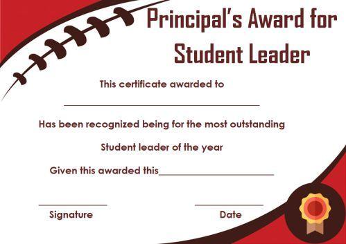 Student Leadership Certificate: 10+ Best Student ...