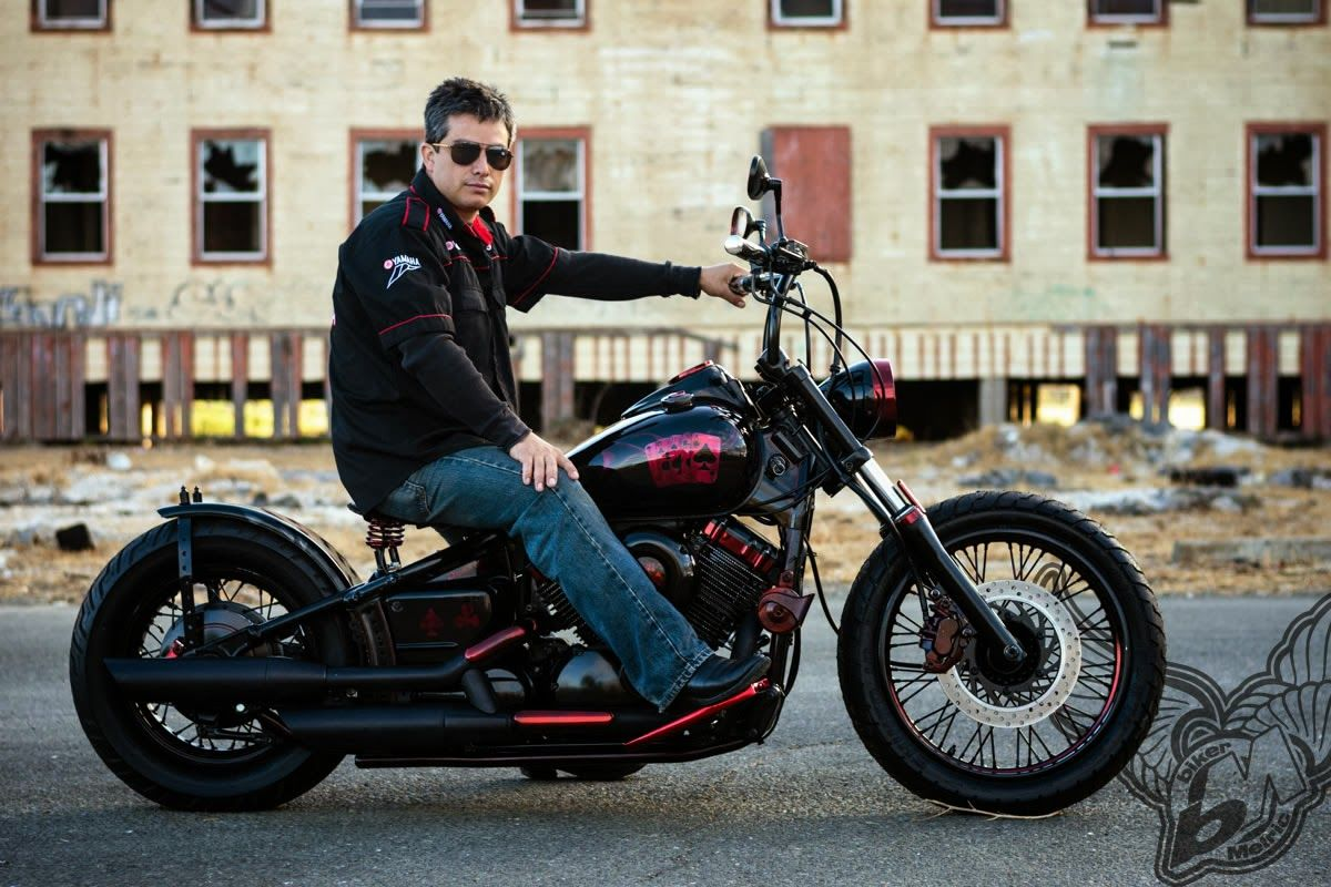 Dead man s hand yamaha v star 650 by tico designs custom cycles bikermetric