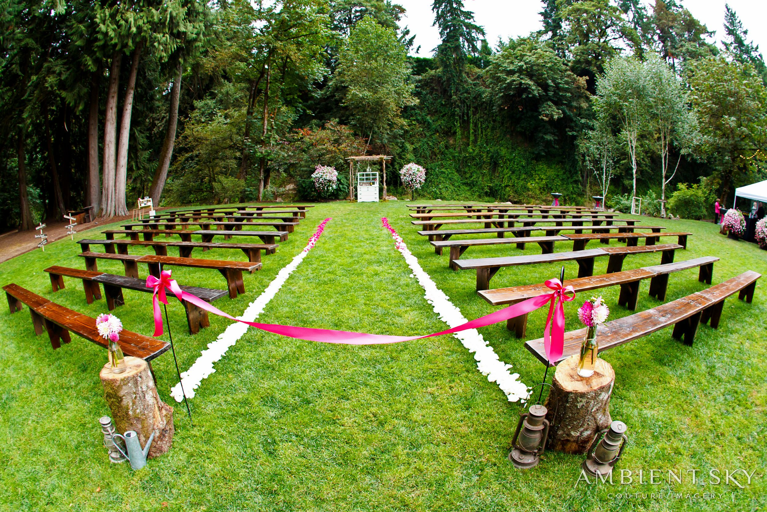 Wooden Benches For Wedding Ceremony Real Weddings