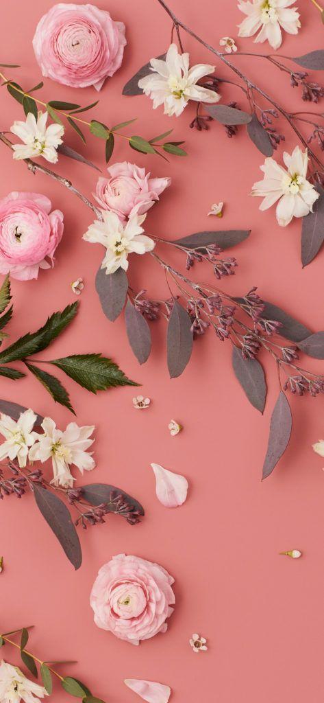 اجمل خلفيات ايفون 6 Iphone Wallpapers 4k Tecnologis Floral Wallpaper Phone Floral Wallpaper Iphone Pink Flowers Wallpaper