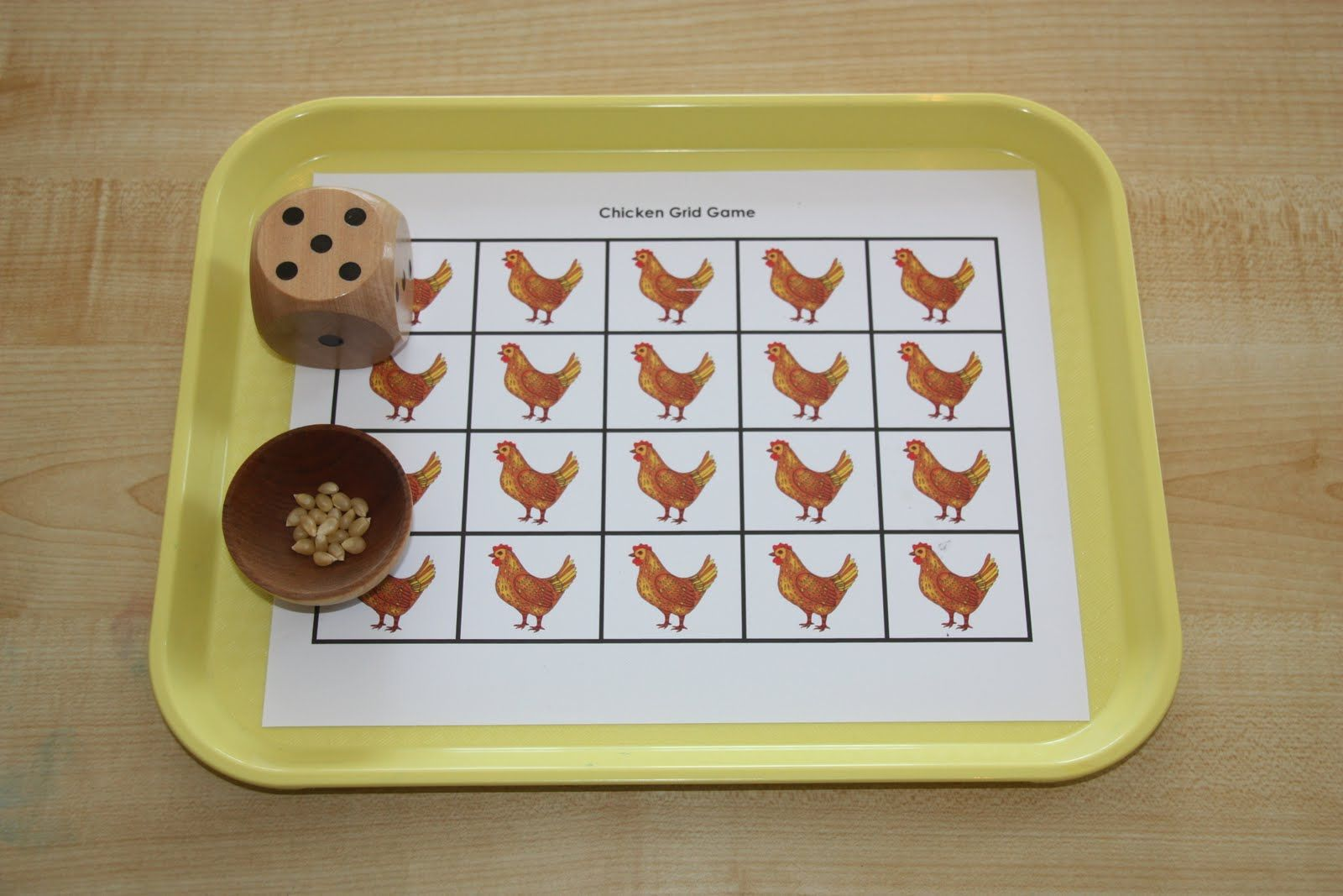 Feed The Chickens Game Go To This Site This Blogger Has Beautiful Ideas For Teaching This Age